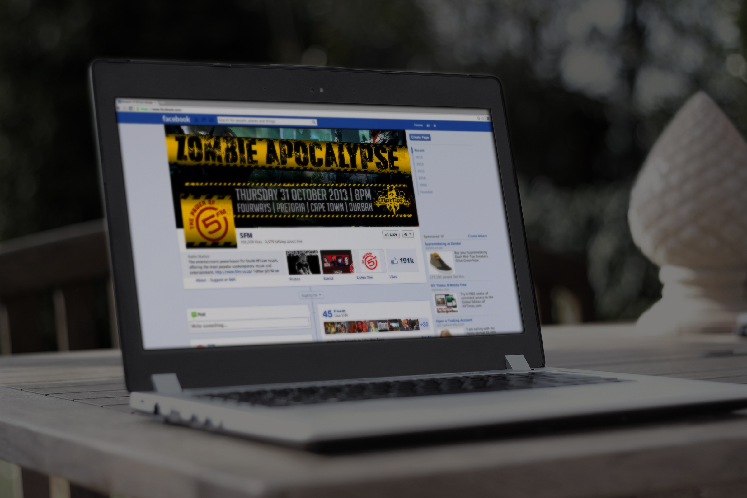 5fm zombie_social facebook